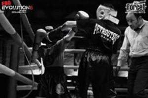 fight Petroutsos boxing team
