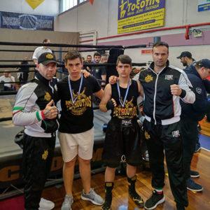 2o φεστιβάλ πυγμαχίας, Petroutsos Boxing Team, παιδικό τμήμα πυγμαχίας